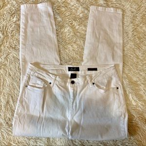Earl jeans Sz 16 jeans skinny ankle white